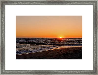 Gulf Coast Sunset  - Maxbar125 Framed Print