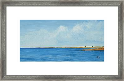 Gulf Impression 1 Framed Print
