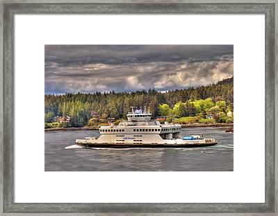 Gulf Islands 7 Framed Print
