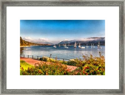 Gulf Of  Ullapool      Framed Print