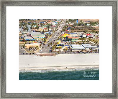 Gulf Shores - Hwy 59 Framed Print