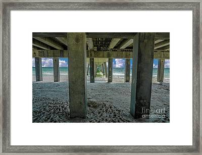 Gulf Shores Park And Pier Al 1649 Framed Print