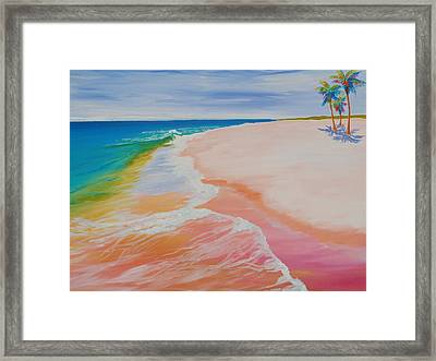 Gulf Side Framed Print by Anne Marie Brown