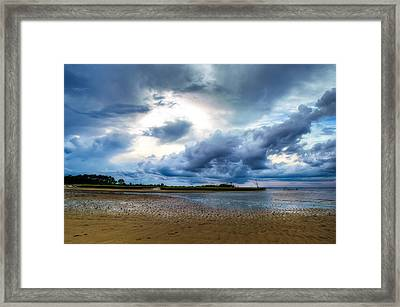 Gulf Storm Framed Print by Rich Leighton