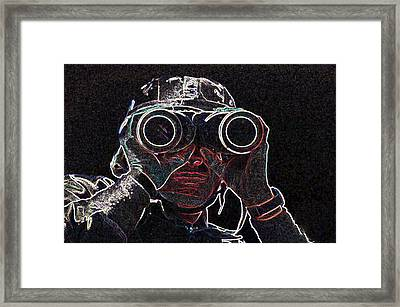 Gulf War Framed Print