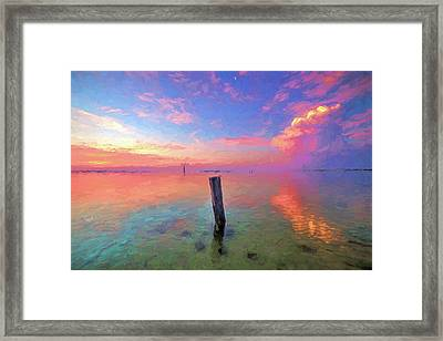 Gulfstream Mornings Framed Print by JC Findley