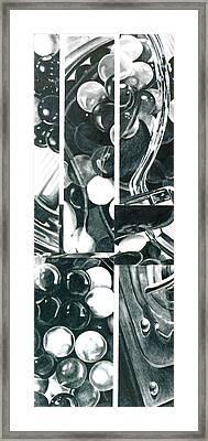 Gumballs Framed Print