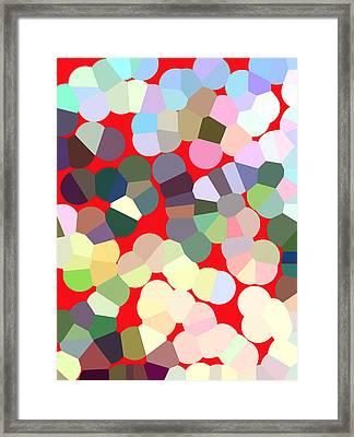 Gumbo Framed Print by Diana Gonzalez