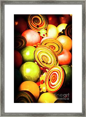 Gumdrops And Candy Pops  Framed Print by Jorgo Photography - Wall Art Gallery