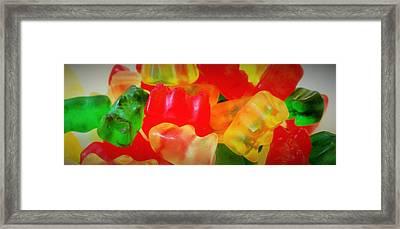 Gummies Framed Print