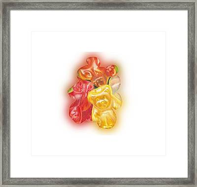 Gummy Bear Framed Print