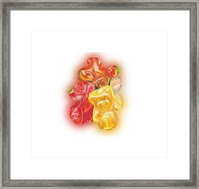 Gummy Bear Framed Print by Shana Rowe Jackson
