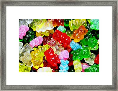 Gummy Bears Framed Print