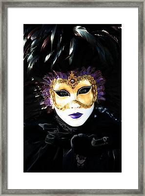 Gunilla Maria's Portrait 2 Framed Print by Donna Corless