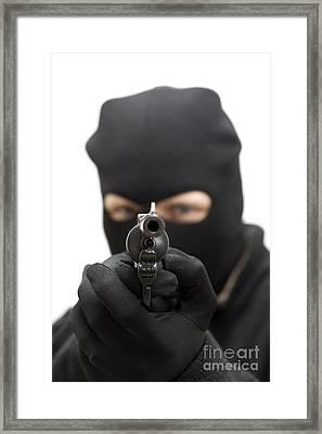 Gunman Framed Print by Jorgo Photography - Wall Art Gallery