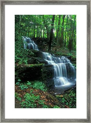 Gunn Brook Falls Framed Print