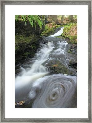 Gunn Brook Vortex Mount Toby Framed Print by John Burk
