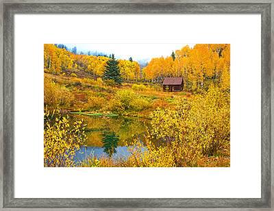 Gunnison Reflection  Framed Print