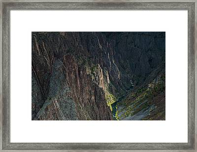 Gunnison River Framed Print by Joseph Smith