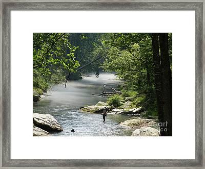 Gunpowder Falls  Framed Print