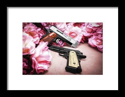 Firearms Framed Prints