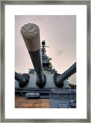 Guns Of North Carolina Framed Print