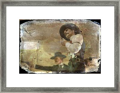 Gunslinger II Doc Holliday Framed Print