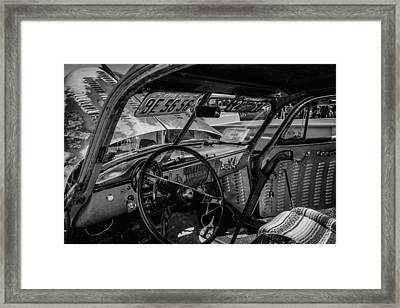 Gunslingers Rat Rod Framed Print