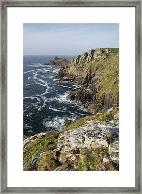 Gurnards Head In Cornwall Framed Print by Pete Hemington