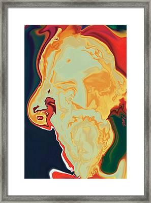 Gurudev Framed Print by Rabi Khan