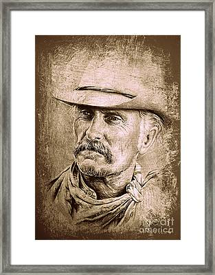 Gus Mccrae Framed Print by Andrew Read