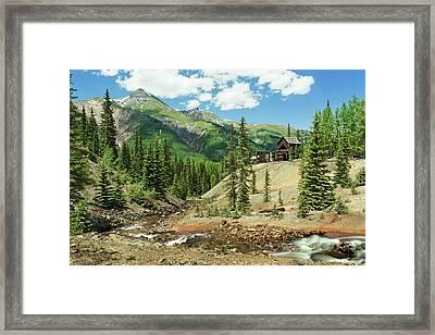 Gustan Mine Framed Print