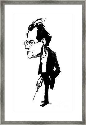 Gustav Mahler (1860-1911) Framed Print by Granger
