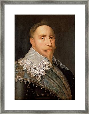Gustavus Adolphus Of Sweden Framed Print by War Is Hell Store