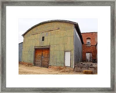 Gutherie Barn Framed Print by John Adams