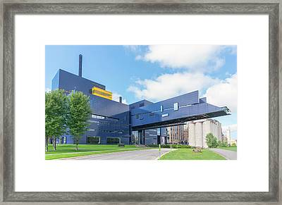 Guthrie Theater In Minneapolis Framed Print by Jim Hughes