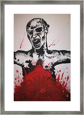 Gutted Framed Print by Sam Hane