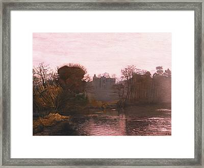 Guys Cliffe House Warwick England Framed Print