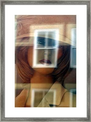 Gwendoline Framed Print by Jez C Self