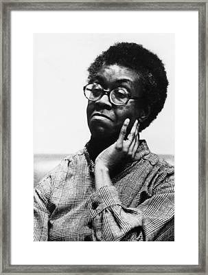 Gwendolyn Brooks 1917-2000, American Framed Print by Everett