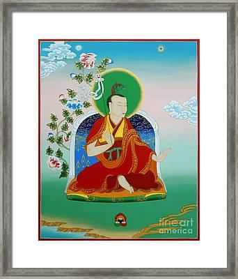 Gyalwa Choyang Framed Print