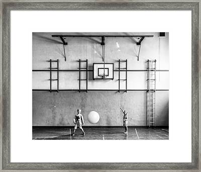 Gym Framed Print by Susanne Stoop