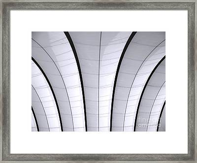 Gymnasium Ceiling Framed Print