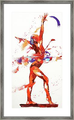 Gymnast Four Framed Print