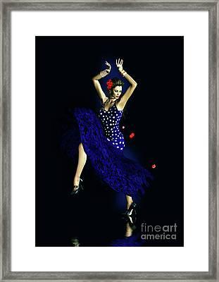 Gypsy Blue Framed Print by Shanina Conway
