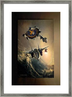 Gypsy Cats Framed Print by Peter Van Stigt