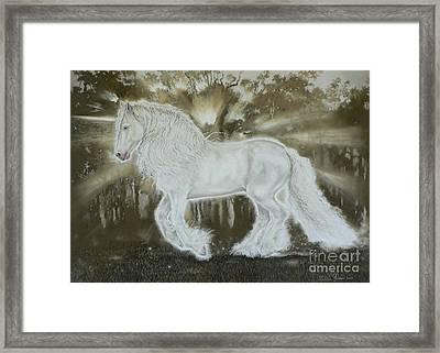 Gypsy Dreams Framed Print by Louise Green