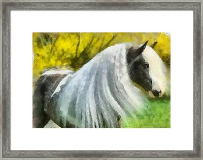 Framed Print featuring the painting Gypsy by Elizabeth Coats