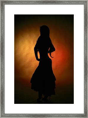 Gypsy Girl Framed Print by Naman Imagery