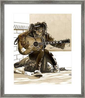Gypsy Girl  Framed Print by Pamela Patch